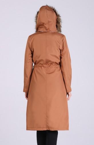 معطف كراميل 9051-03