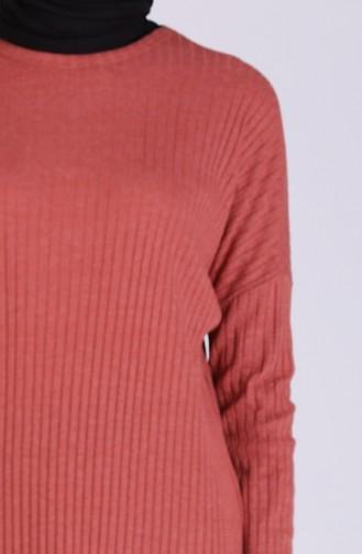 Tunik Pantolon İkili Takım 8148-03 Kiremit