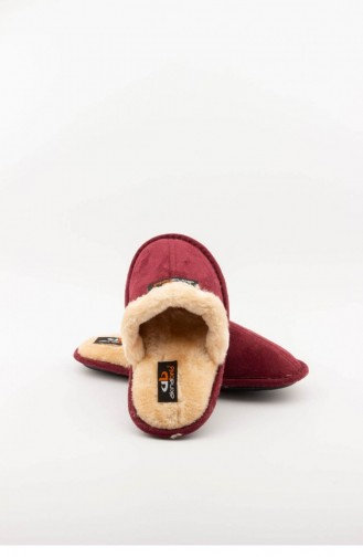 Claret red Woman home slippers 3561.MM BORDO