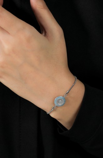 Silver Gray Bracelet 007-01