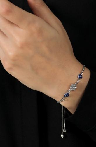 Silbergrau Armband 149-01