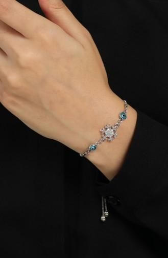 Silbergrau Armband 150-01