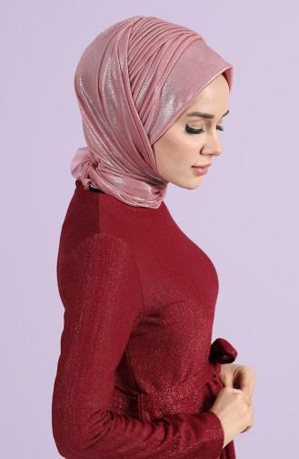 Turban Pret-a-Porter Rose Pâle 1142-02