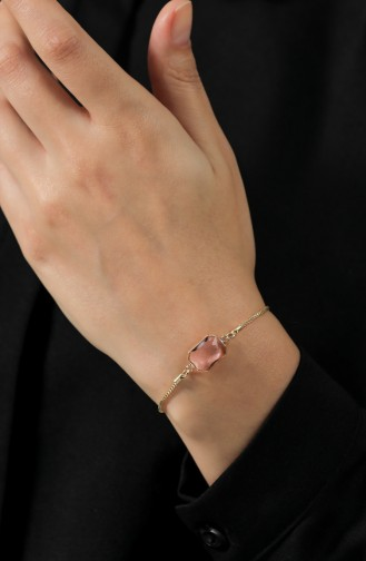 Goldfarbig Armband 105-03
