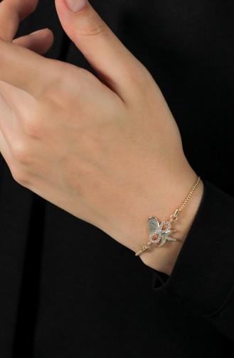 Goldfarbig Armband 146-02