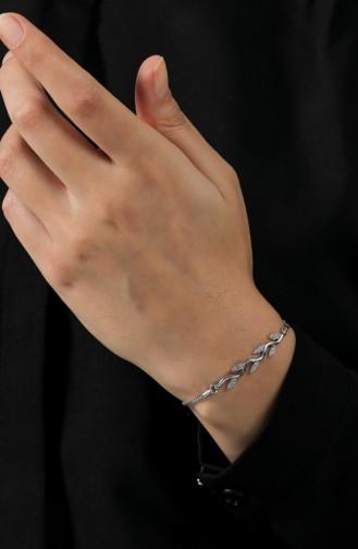 Beige-Rose Armband 036-01