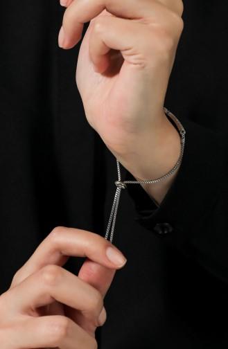 Silbergrau Armband 030-01