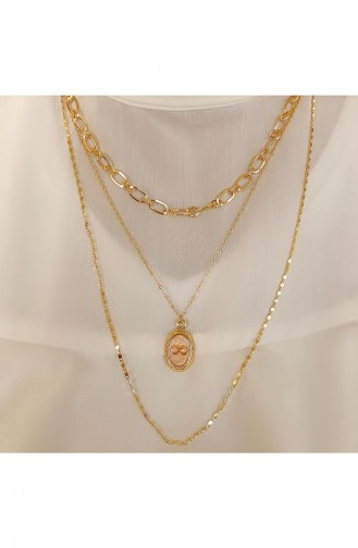 Golden Yellow Necklace 0002