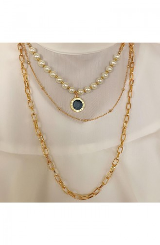 Golden Yellow Necklace 0013