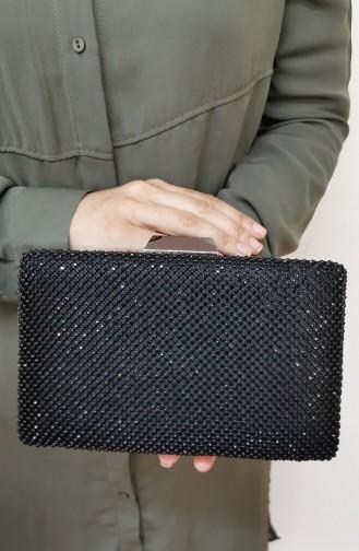 Schwarz Portfolio Handtasche 773113-201