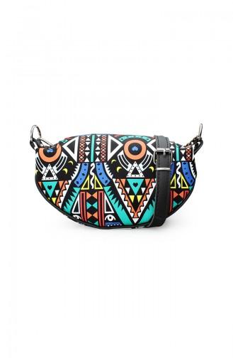 Black Shoulder Bag 172-01