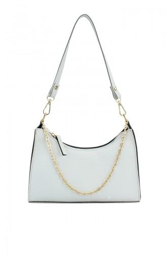 White Shoulder Bag 174-01