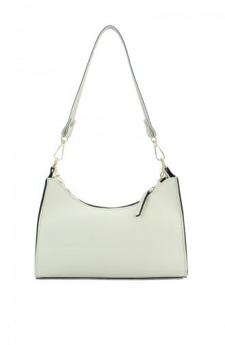 Cream Shoulder Bag 174-02