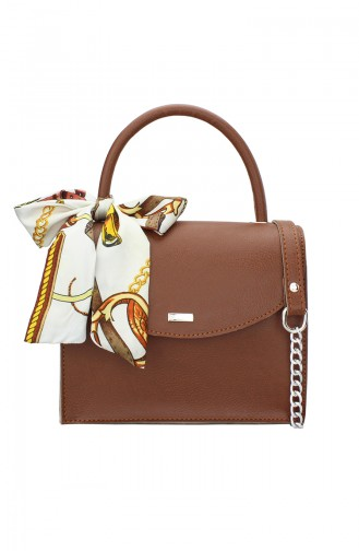 Tobacco Brown Shoulder Bag 184-02