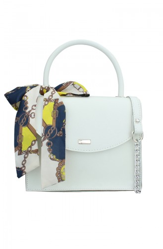White Shoulder Bag 184-03