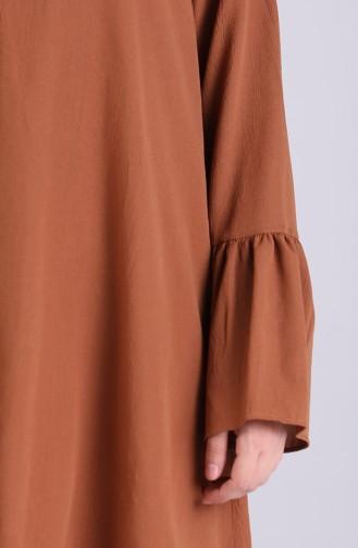 Kolu Volanlı Tunik 1422-03 Tarçın Renk 1422-03