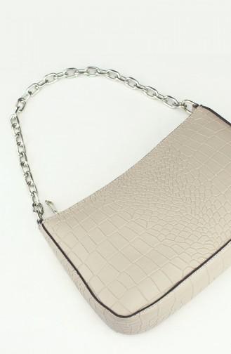 Cream Shoulder Bag 192-05