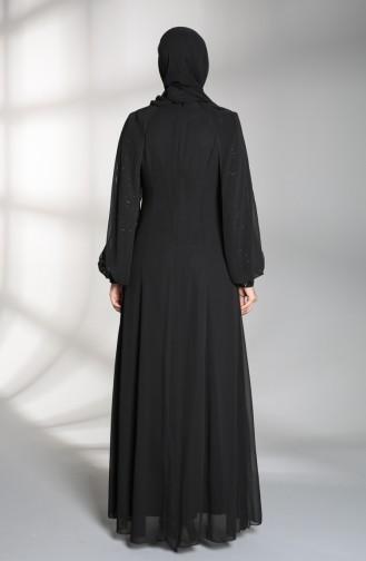 Black İslamitische Avondjurk 52764-03