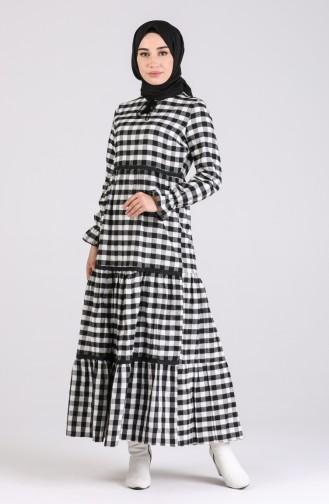 Robe Hijab Noir 4326-01
