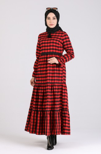 Robe Hijab Bordeaux 4326-02