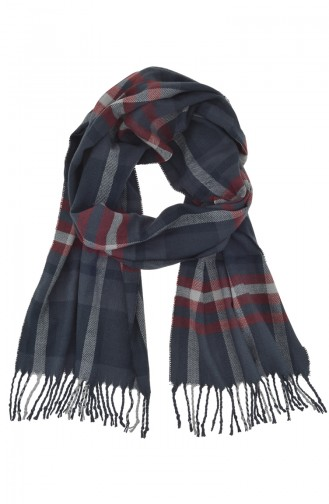 Echarpe Bonnets Gants Bleu Marine 00281