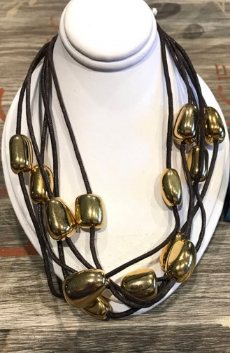 Golden Yellow Necklace 02002