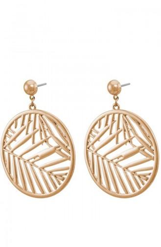 Golden Yellow Earring 0981