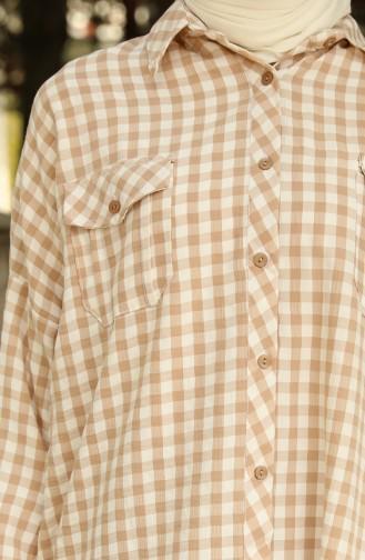 Mink Overhemdblouse 1046-04