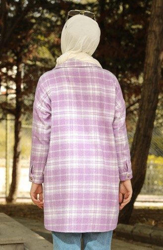 Cepli Oduncu Gömlek 1122-01 Lila
