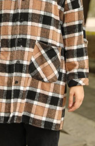 قميص بُني 1126-01