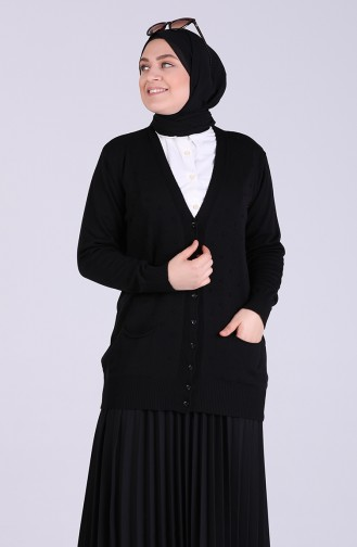 Black Cardigan 0510-03