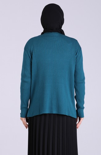 Oil Blue Sweater 0533-06