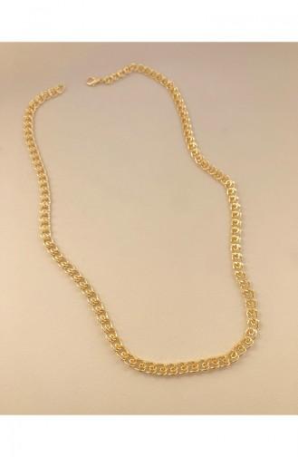 Gold Colour Necklace 0071