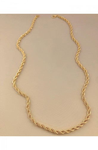 Goldfarbig Kette 0078