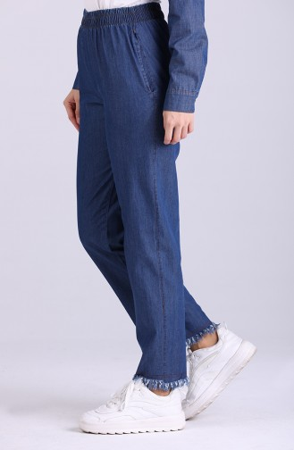 Elastic Jeans 2002-02 Navy Blue 2002-02