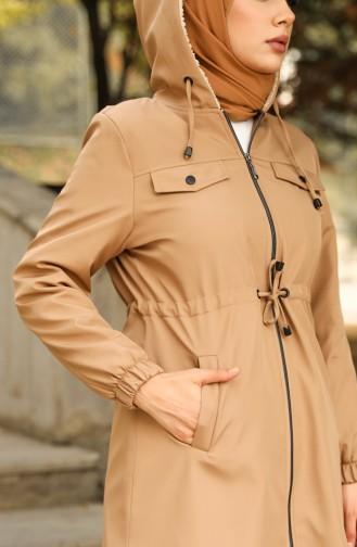 Beige Coats 0126-04