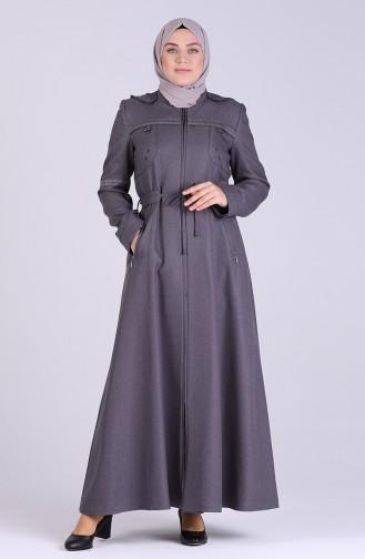 Gray Overjas 1009-02