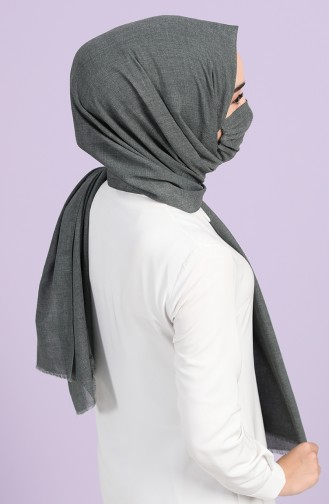 Light Black Shawl 1001-17
