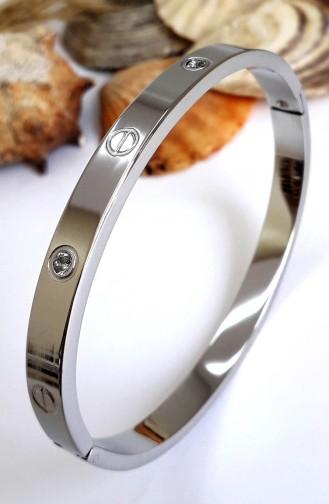 Silver Gray Bracelet 0114