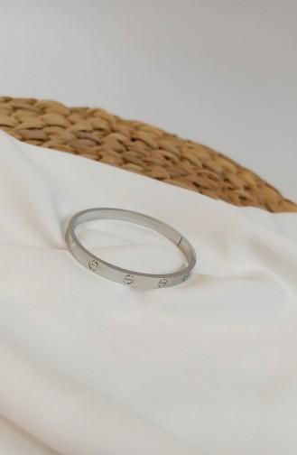 Silbergrau Armband 0116
