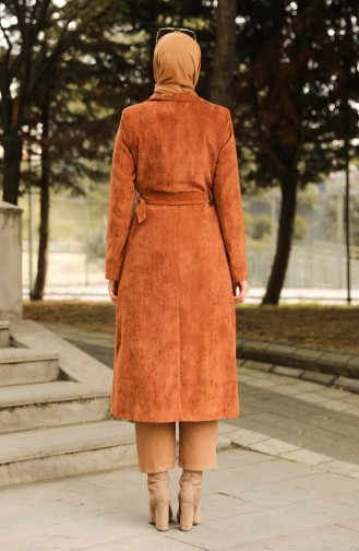 Trench Coat Tabac 1664-03
