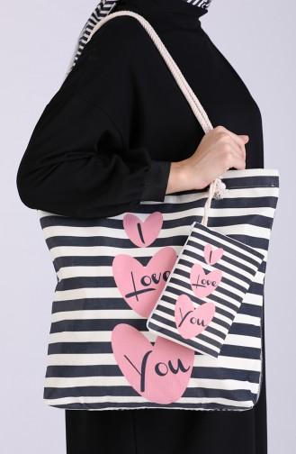 Pink Shoulder Bag 1018
