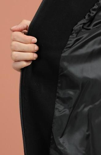 Black Lange Jas 1001-04