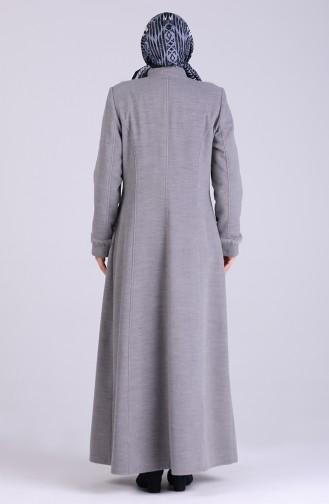 Grau Mantel 1004-01