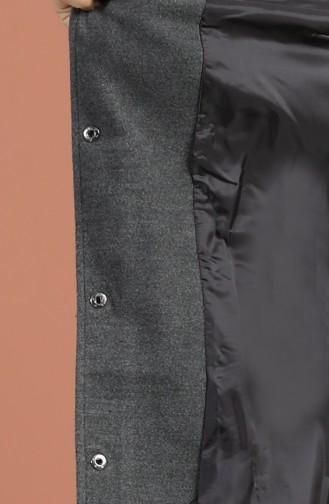 Grau Mantel 1007-04