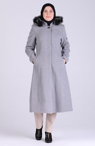Gray Lange Jas 1011-05