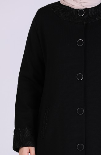 Schwarz Trenchcoat 4953-01