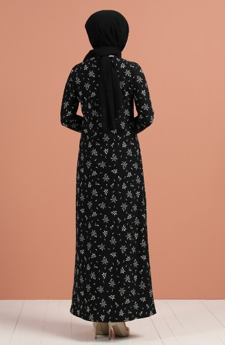 فستان أسود 8885-01