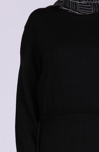 فستان أسود 5051-06