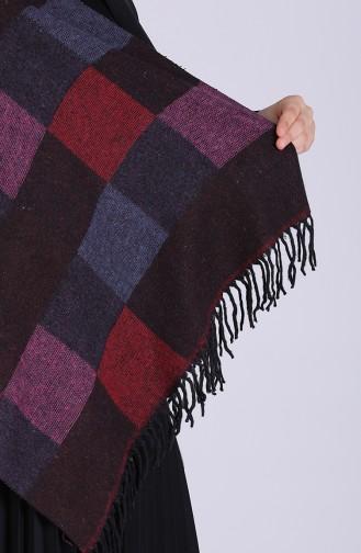 Purple Poncho 13202-05